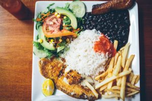Surf Camp Costa Rica - Meals - Typical Casado